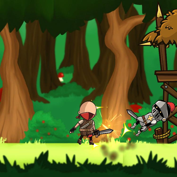 Knight and Bandits